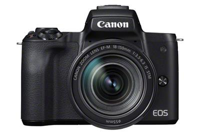 Canon EOS M50 Body + 18-150mm - Zwart