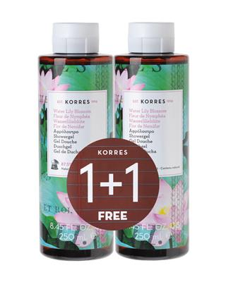 1+1 Showergel Water Lily Blossom - 2 x 250 ml