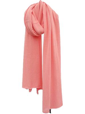 Cosy Cotton sjaal - Coral Blush