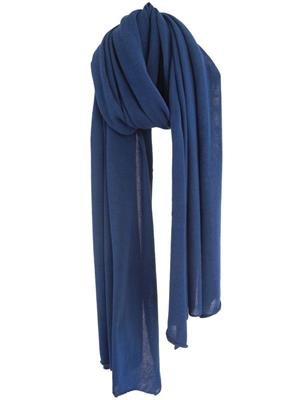 Cosy Cotton sjaal - Lapis Blue
