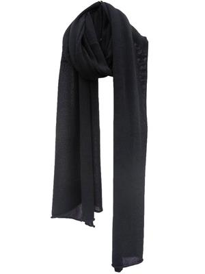 Cosy Cotton sjaal - Solid Black