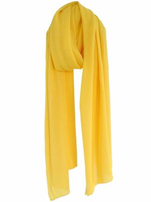 Cosy Cotton sjaal - Vibrant Yellow