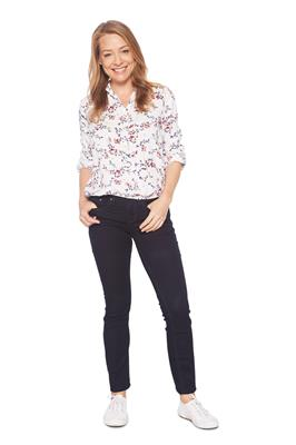 Tom Tailor Women Blouse Gebloemd Wit