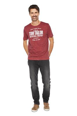 Tom Tailor Casual T-Shirt Print Rood