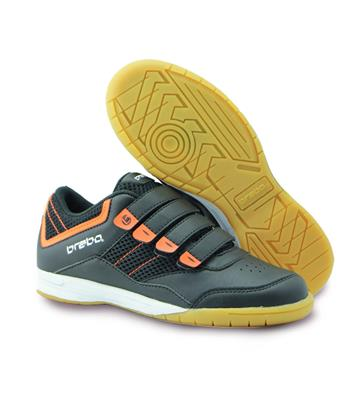 competitive price 0c3eb 732b7 plaats in friesland Brabo BF1017C Brabo Indoor shoe BlackOrange