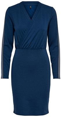 onlBrilliant siv l/s dress Blueprint