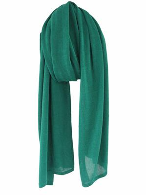 Cosy Cotton sjaal - Deep Mint