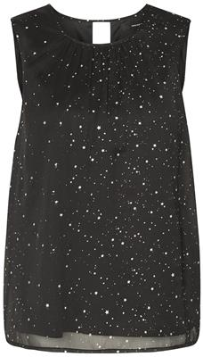 Vmsalara s/l midi top Black/Star