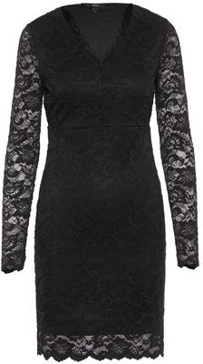 Vmlucia ls short dress boo local Black