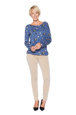Tom Tailor Women Top Floral Navy