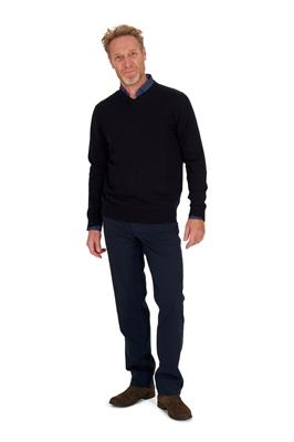 Zwarte V Hals Trui.Heren Truien Sweaters Shop Online Miller Monroe