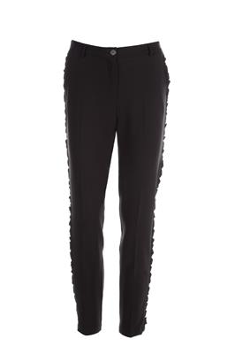 Pantalon met ruches