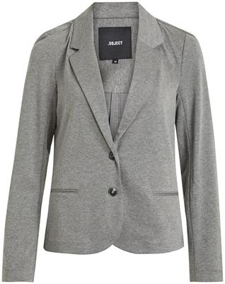 Objshelly ls blazer Medium grey melange