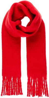Vmcarla long scarf Chinese Red