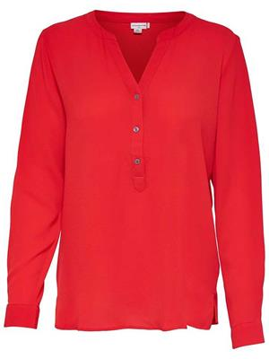 Jdytrack l/s blouse Fiery red