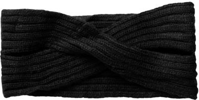 Pcvirtula twisted cashmere headband noos Black