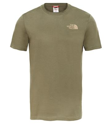e142f62d5fe pali sp office phone number The North Face M SS REDBOX CEL TEE NEW TAUPE  GREEN