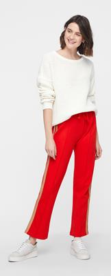 Vmgina track pants vma Fiery Red/two colore