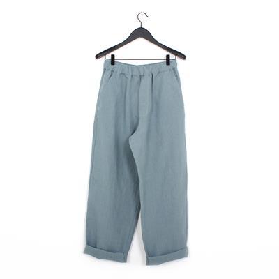 1865c1f1ff Cristaseya linen pants light blue