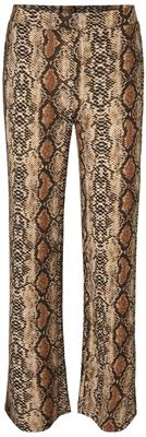 Nmsally snake nw loose pant Black/Brown