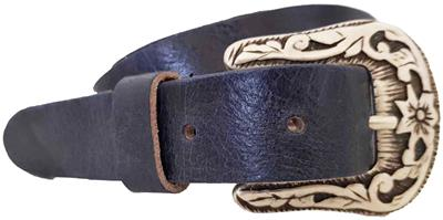 Rock n Rich belt small dark blue