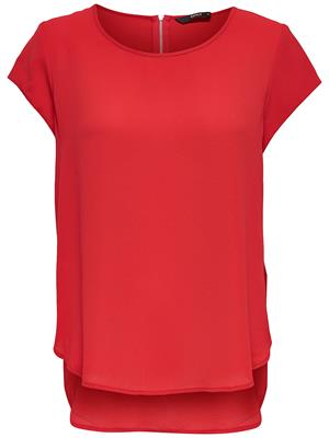 Onlvic s/s solid top High risk red