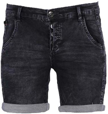 Geisha shorts Black denim