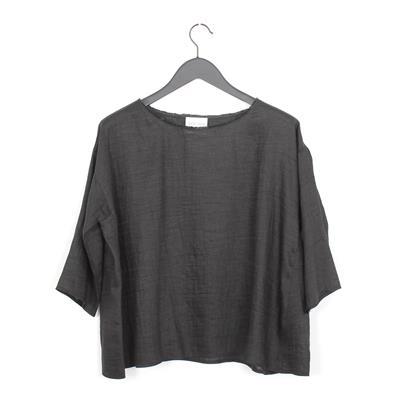 52f822e9 Forte Forte shantung canvas shirt nero