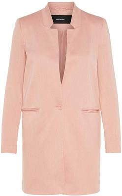vmjune long blazer misty rose