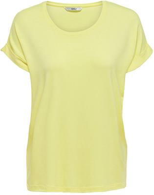 Onlmoster s/s oneck top Yellow pear