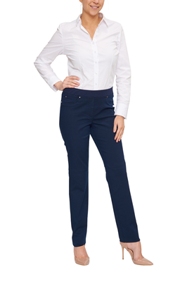 Rabe Broek Slim-Fit Navy