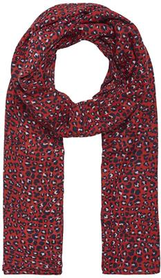 Pcbertrud long scarf high risk red