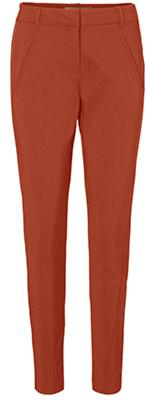 Vmvictoria mr antifit ankle pants color Cinnamon stick