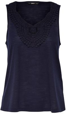 Onlisa s/l crochet tank top Night Sky