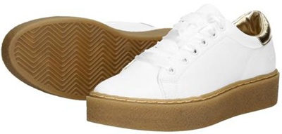 Fabs sneakers white/gold