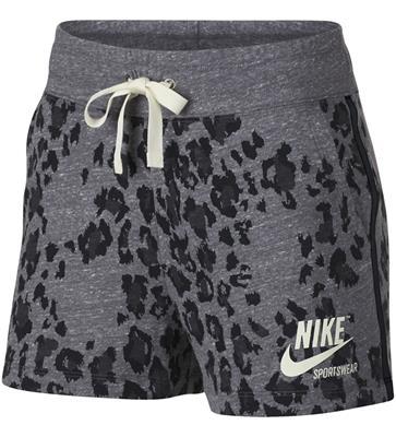 20b2290cf5c flinke jongen dj Nike Sportswear Gym Vintage Short Leopard W