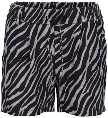 Onlpoptrash easy aop shorts Black/zebra