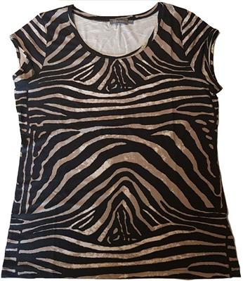 Geisha top kate zebra
