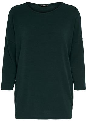 Onlglamour 3/4 top Green Gabbies