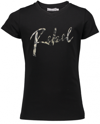 Geisha top rebel Black