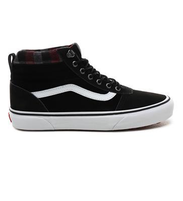 adidas Varial Mid schoenen zwart neon oranje