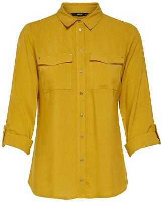 Onljosefine 7/8 fold up shirt Chai tea