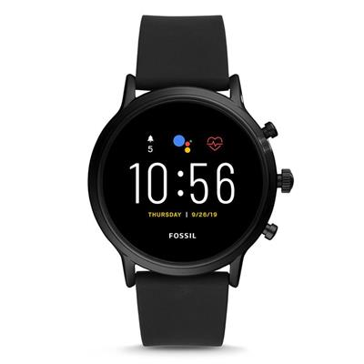 Fossil FTW4025 The Carlyle HR Black - Gen 5 smartwatch