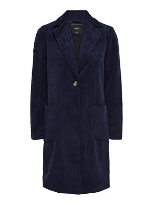 Onlastrid cordoroy coat otw Night sky