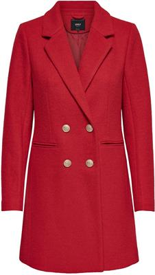 Onlramona wool coat cc otw Fiery red