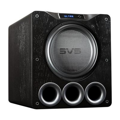 SVS PB16 Ultra Subwoofer Zwart Black Oak