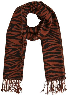 Objmari wool scarf  Brown/Patina