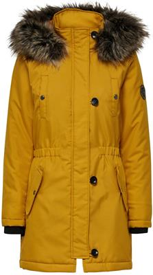 Onliris fur parka cc otw Golden yellow