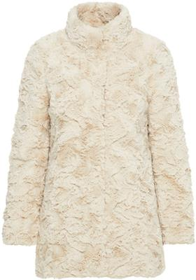 Vmcurl high neck faux fur jacket noos Oatmeal