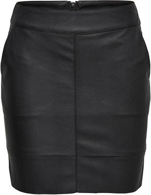 Onlbase faux leather skirt otw noos Black